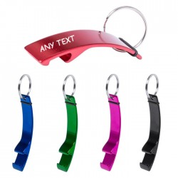 Keyring bottle openers 5 colors to choose
