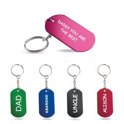 Keyring badge 5 colors to choose