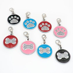 Crystal different shapes ID tags