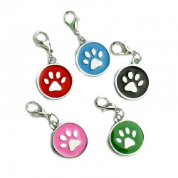 Round ID tag 5 colors to choose