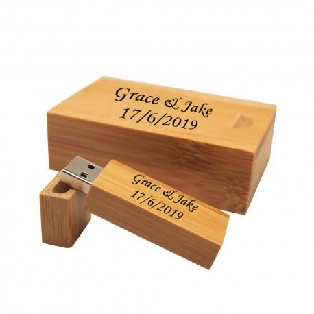 Bamboo personalised memory stick 16GB