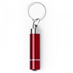 Keyring bottle opener LED light red