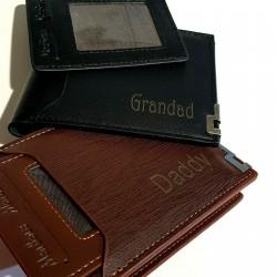 Black- Wallet With Card Holder