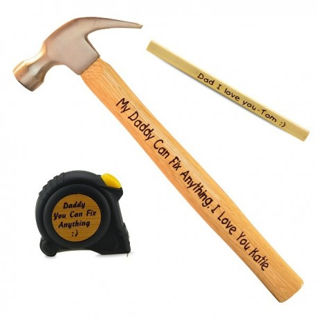 Claw Hammer Set + Tape + Pencil