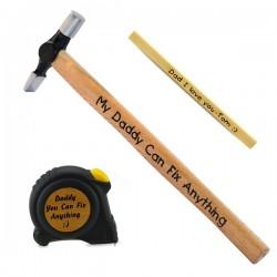 Hammer Set + Tape+Pencil