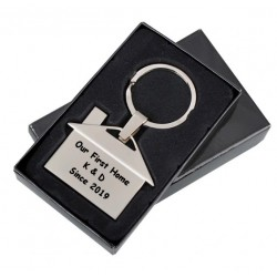 Personalised keyring home R73306
