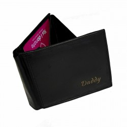 Wallet RP-05 Black Leather