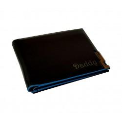 Wallet Blue PCV