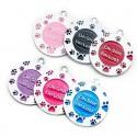 multicolor tags